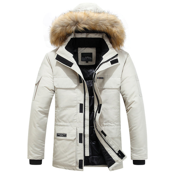 American Casual Cotton-padded Jacket
