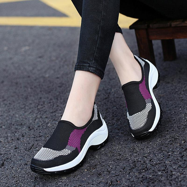 Women's Outdoor Casual Light Breathable Mesh Non-slip Shoes