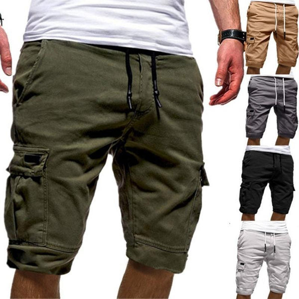 Mens Summer Loose Drawstring Casual Shorts
