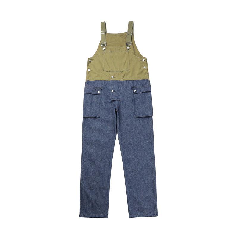 Trendy All-Match Loose Casual Overalls