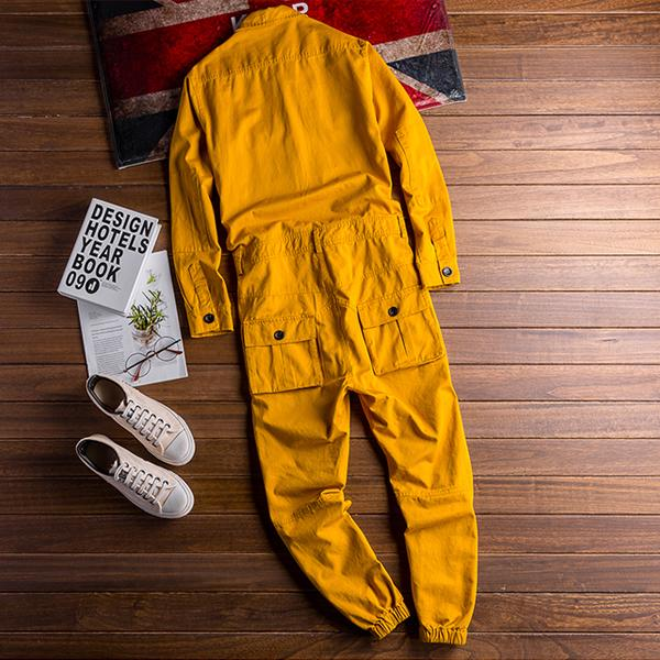 Retro Jumpsuits Coat