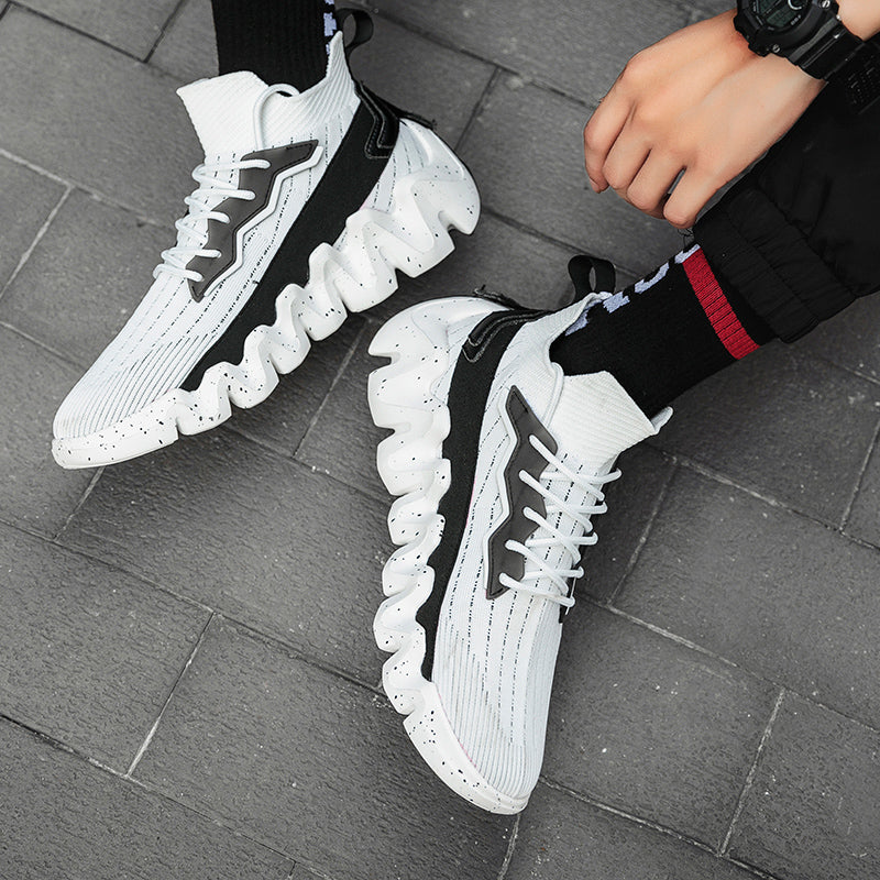 Men's Breathable Casual Personality Socks Sneakers