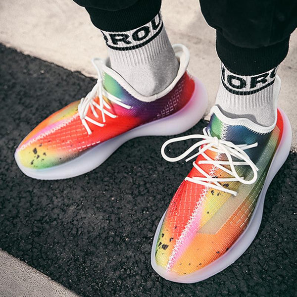 2020 Colorful Jelly Breathable Sneakers