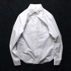 Vintage Cotton Oxford Long Sleeve Shirt