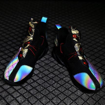 2020 Reflective Embroidery Sneakers