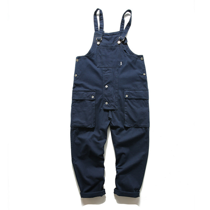 Men And Women Japanese Retro Overalls