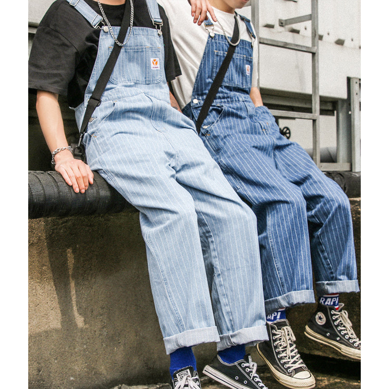 Japanese Striped Overalls