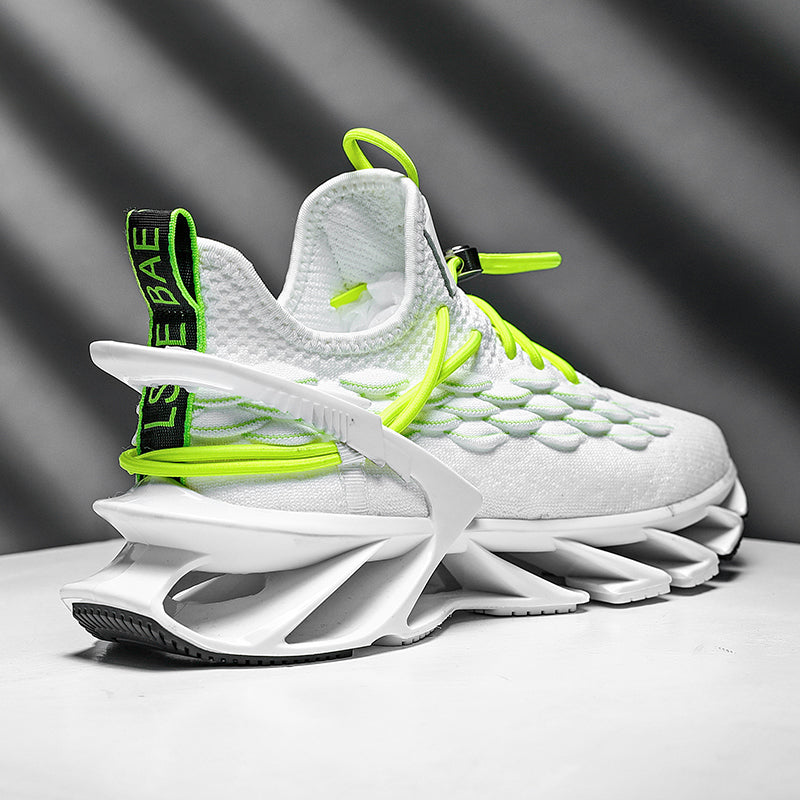 Luminous Flying Woven Scale Blade Sneaker