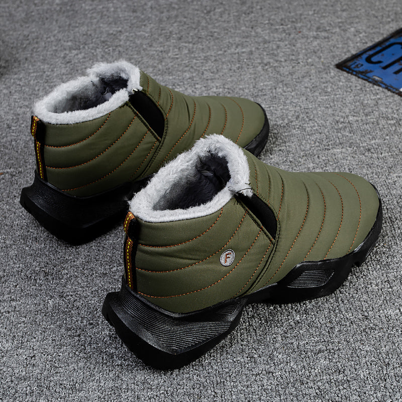 Winter Warm Plus Velvet Snow Boots