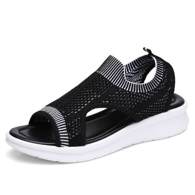 women summer wedge comfort sandals