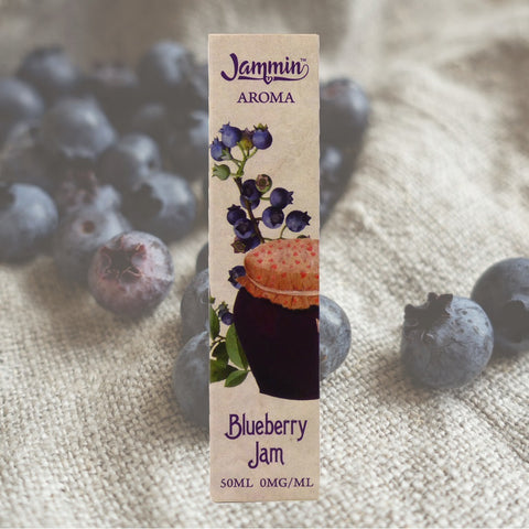 JAMMIN - BLUEBERRY JAM - 50ML SHORT FILL E-LIQUID 0MG