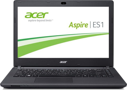 "Acer ES1-411, 14"" Celeron 4GB RAM 500GB HDD Laptop - Black (Grade A)"