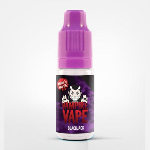 BLACK JACK - 10ML VAMPIRE VAPE E-LIQUID
