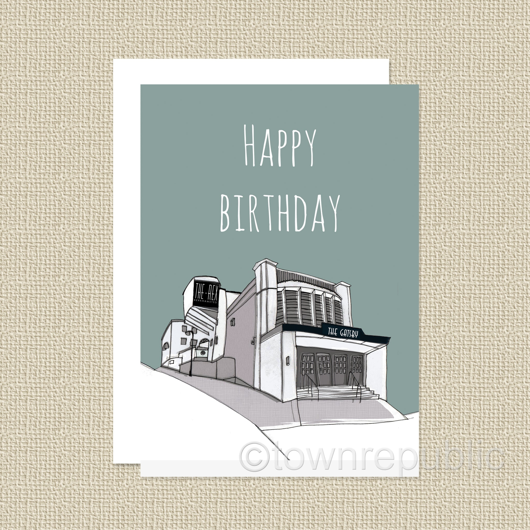 Greetings Card - Rex & Gatsby Happy Birthday