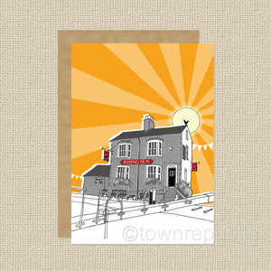 Greetings Card - The Rising Sun