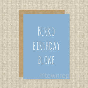 Greetings Card - Berko Birthday Bloke