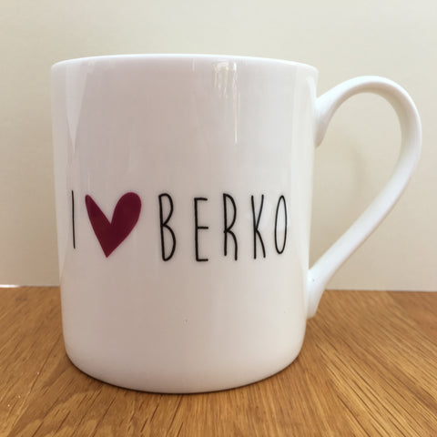 I love Berko mug SOLD OUT