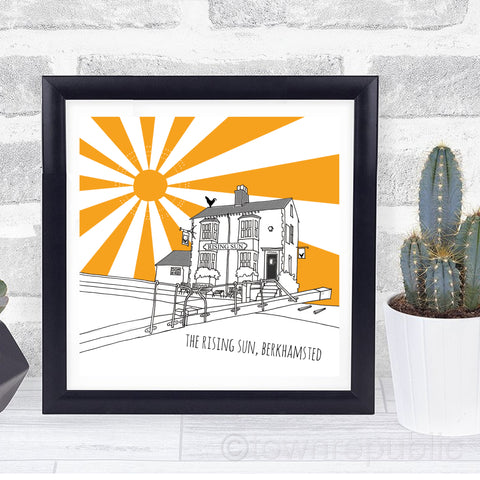 The Rising Sun Mini Print