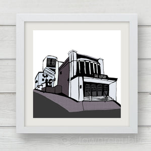 The Rex & The Gatsby Art Print