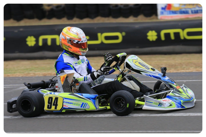 Five podiums for Compkart Australia in mixed conditions at Ipswich Pro Tour