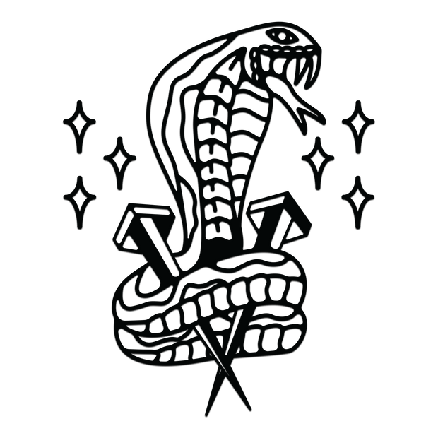 Snake Decal