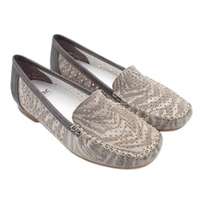 Load image into Gallery viewer, Rieker 40086-42 Yasmin Smart Casual Loafers In Grey
