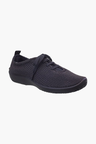 Arcopedico LS knitted lace up Black