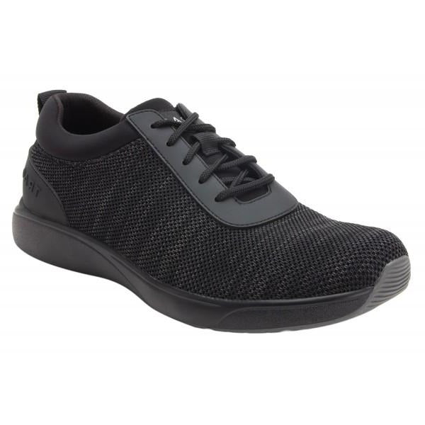Alegria Qantum Mens Casual Shoe - Black Out M7001