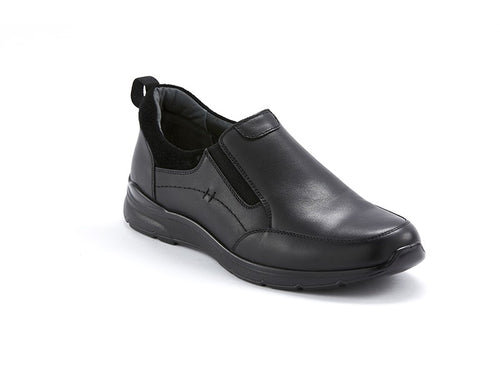 Scholl Bellevue Black Comfort Slip On Dress Shoes