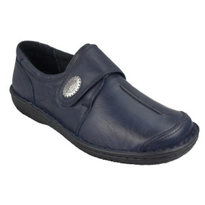 Cabello Comfort Womens 5072-27 Leather Shoes Made In Turkey