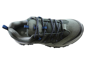SFIDA Trek 2 Mens Runner - Grey/Royal