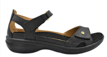 Load image into Gallery viewer, Revere Portofino Sandal - Onyx