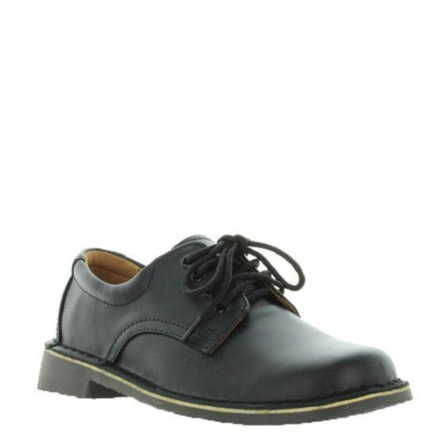 Wilde Jezra school shoe Black Off-Shine