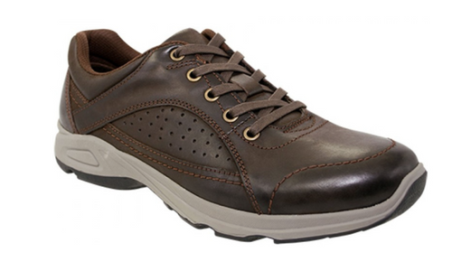 Scholl Orthaheel Dakar Mens Leather Comfort Supportive Casual Shoes