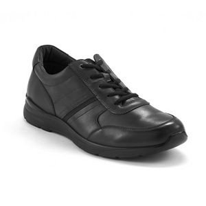 Scholl Orthaheel Baltimore Mens Comfort Leather Shoes
