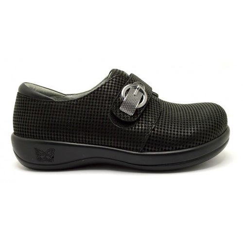 Alegria Joleen Houndstooth Mini shoe
