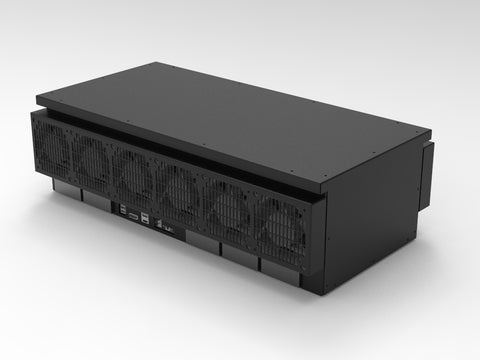 BLACKBOX inc 16x Xilinx BCU1525 Blockchain Edition FPGAs