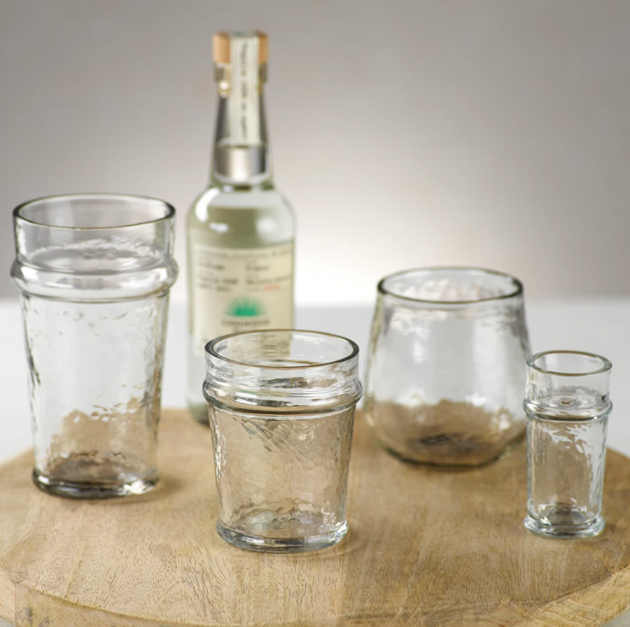 Artisan Hammered Old Fashioned Glass (SET OF 12)