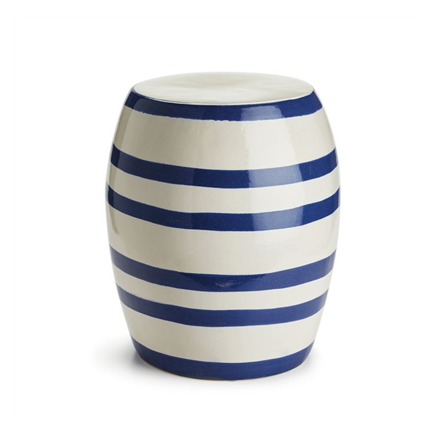Barclay Butera Ceramic Stool - Liliann Rey For The Home