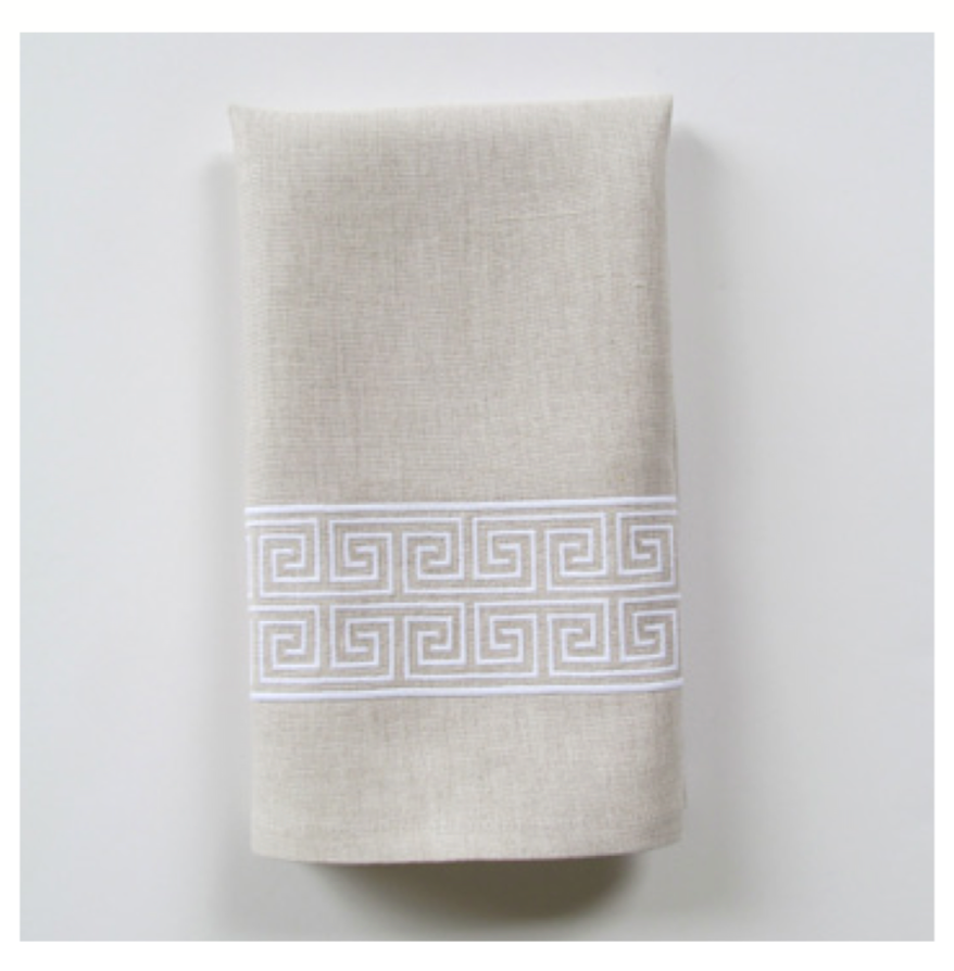Embroidered Tip Towel - Alexia Wide