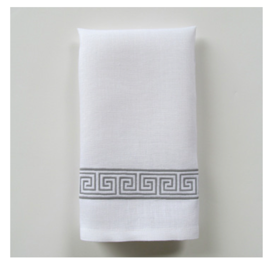 Embroidered Tip Towel - Alexia Narrow