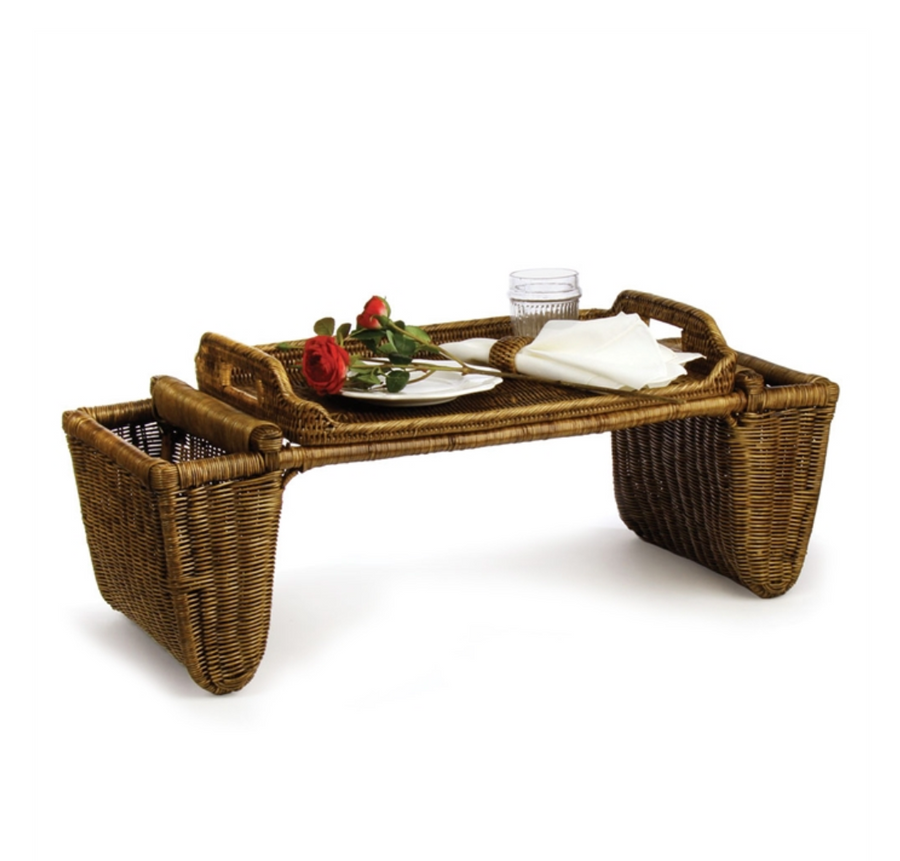 Burma Rattan Breakfast Tray Table