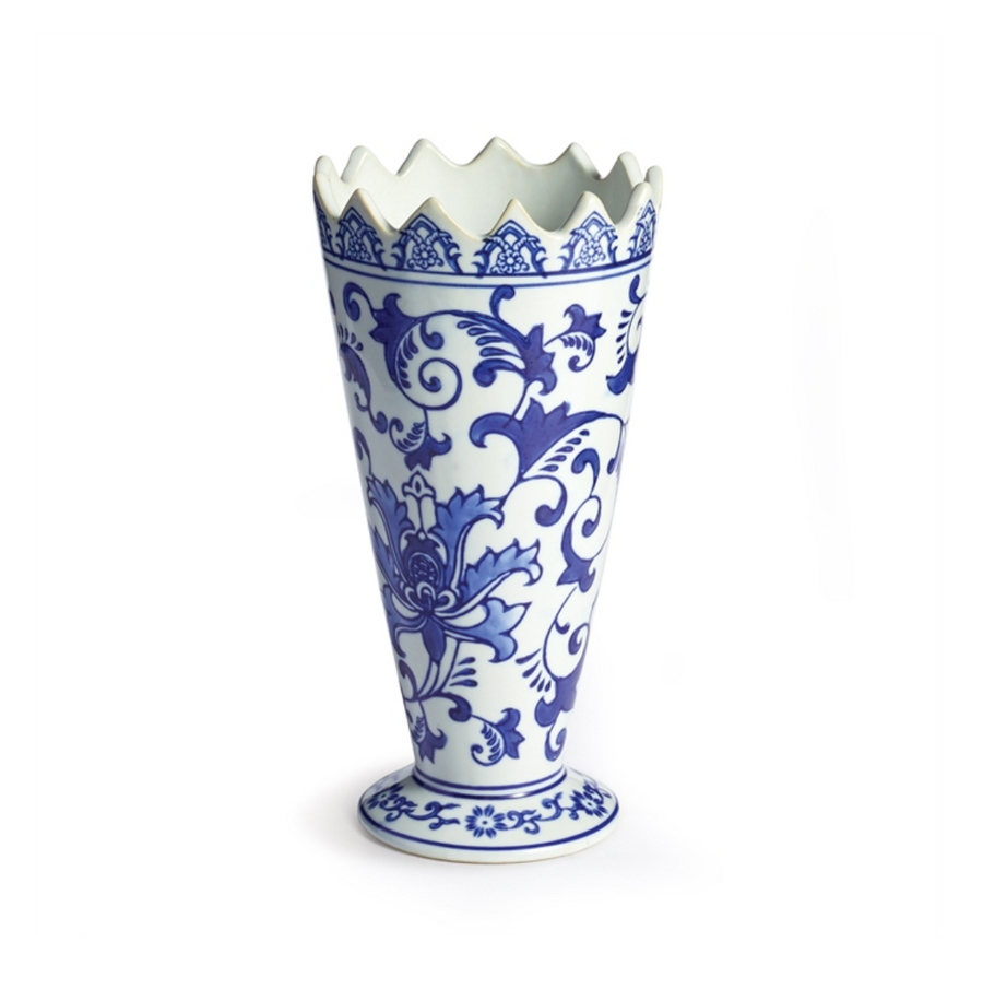 BARCLAY BUTERA DYNASTY FLORAL VASE - Liliann Rey For The Home