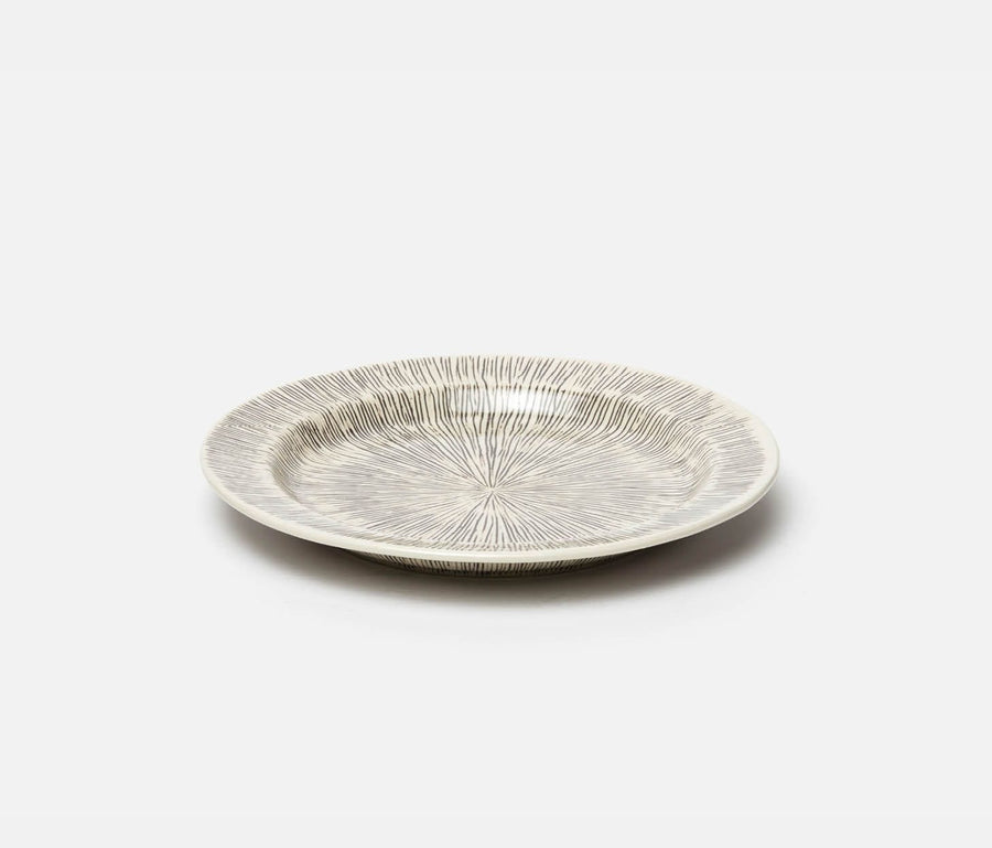 Nolan Dinnerware Black/Cream
