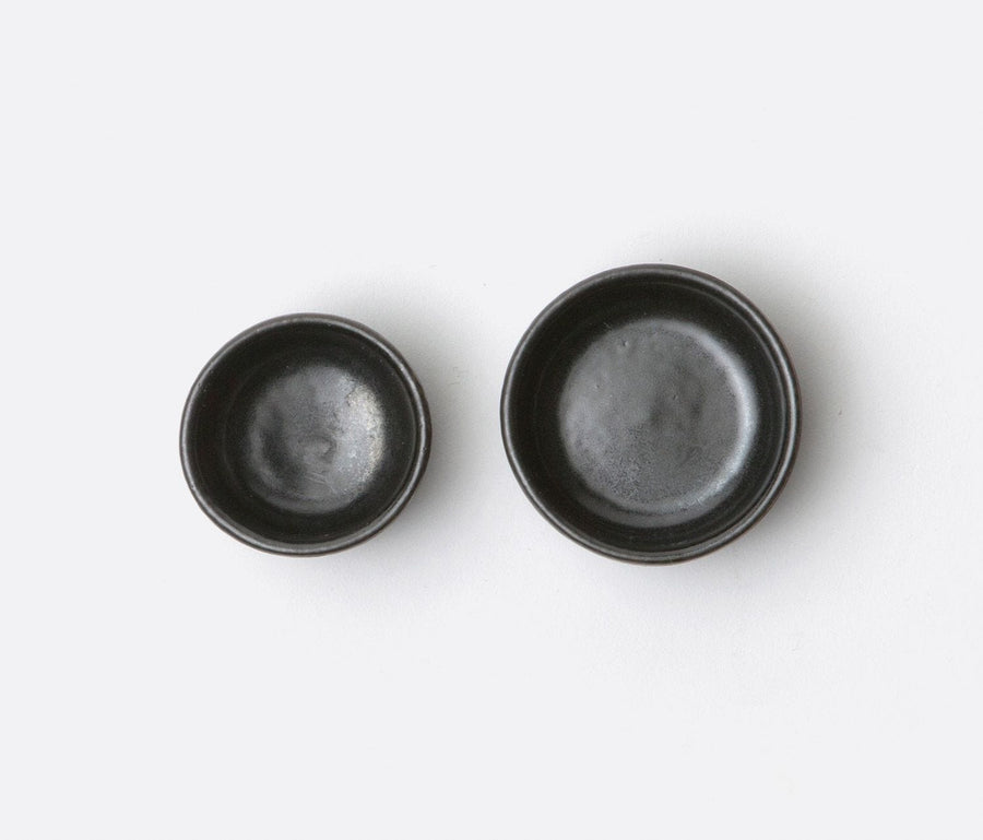 Holly Black Glaze Serving / Pinch Bowls