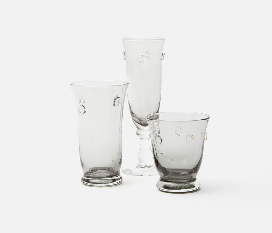 Lucia Pale Gray Drinkware