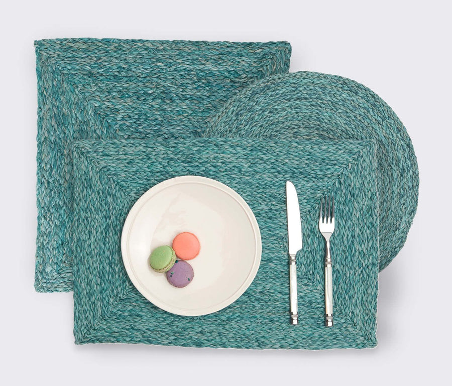 Zoey Mixed Blue Placemat