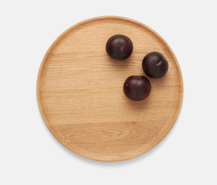 Kennedy Oak Wood Dinnerware