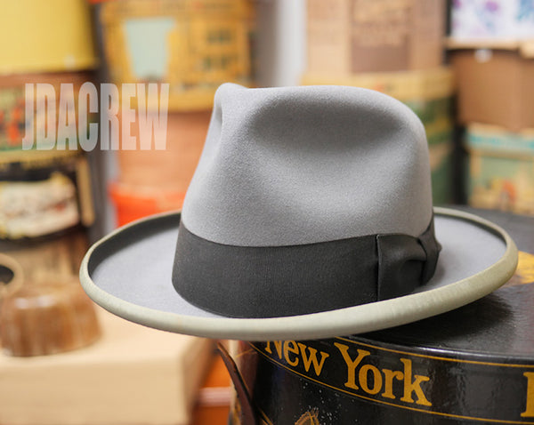 【Royal Deluxe Stetson】1950's ステットソン St.Regis・グレー (57cm) ヴィンテージ