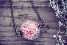 Moss Necklace Norwegian Pink Coral